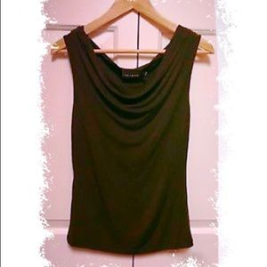 The Limited soft jersey brown sleeveless top